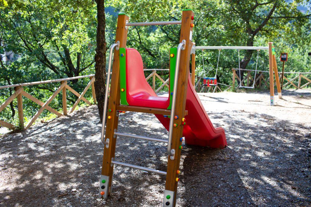 Area giochi e fitness Villa Lara Sicilia