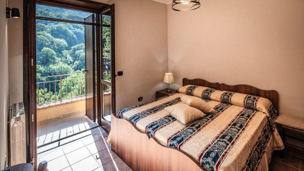 Camera sul bosco Villa Lara Sicilia